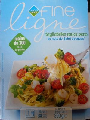 Tagliatelles sauce pesto et noix de Saint Jacques*, Surgelé - Produit
