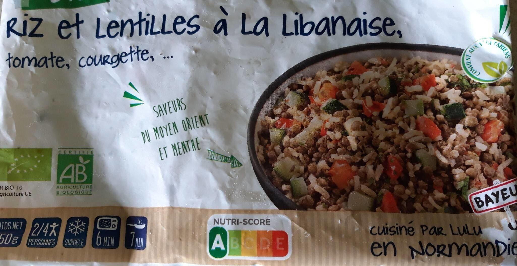 Riz et lentilles - Produit - fr