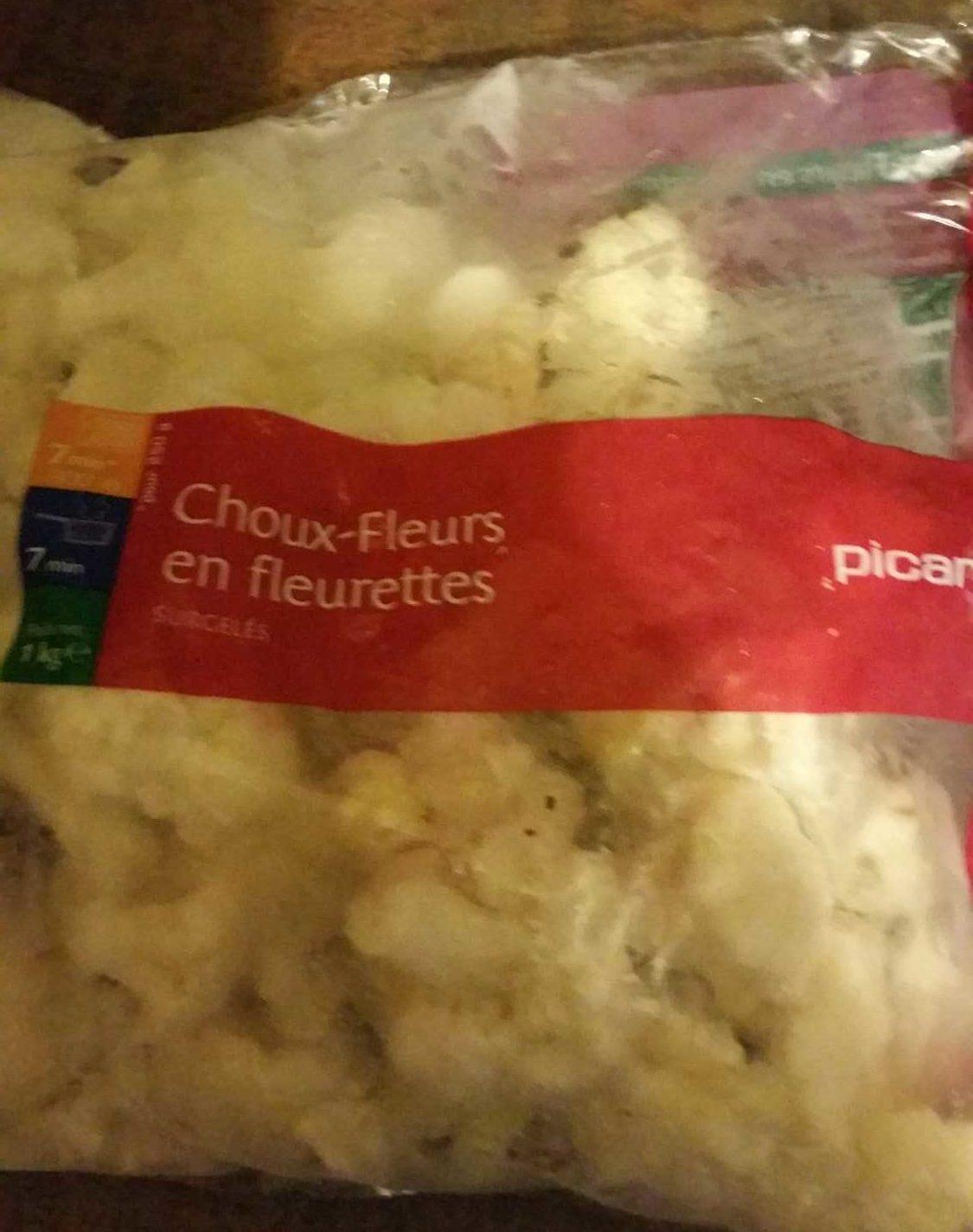 Choux-fleurs en Fleurettes - Produit