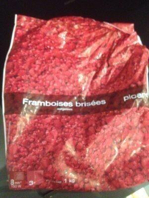 Framboises Brisées 1 Kilo - Product - fr