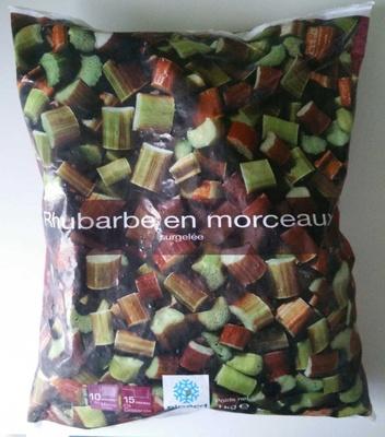 Rhubarbe en morceaux - Produit - fr
