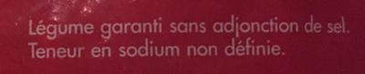 Oignons Émincés - Ingrédients - fr