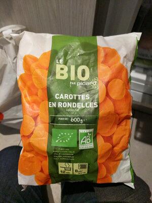 Carottes en rondelles surgelées Bio - 600 g - Produit - fr