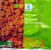 Carottes en rondelles surgelées Bio - 600 g - Produit