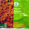 Carottes en rondelles surgelées Bio - 600 g - Producto