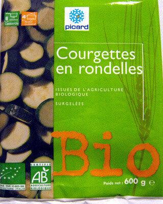 Courgettes en rondelles Bio - Produit - fr