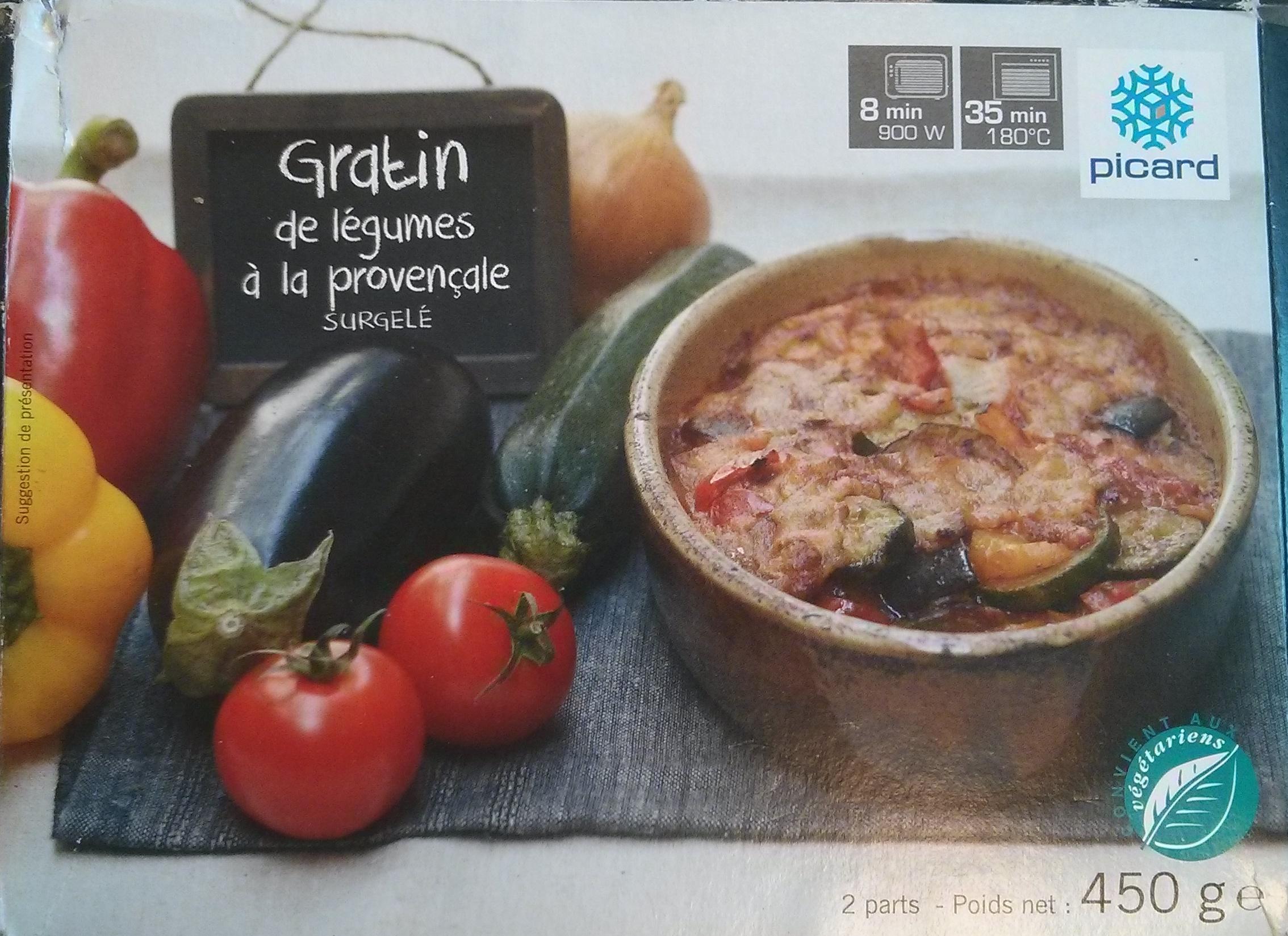 Gratin de Légumes à la Provençale, Surgelé - Product - fr