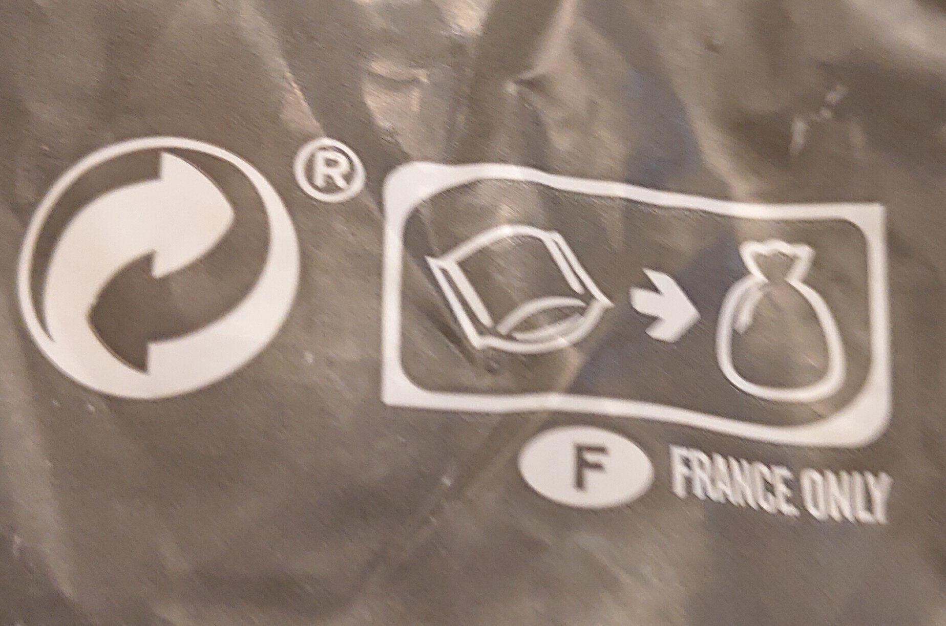 Ratatouille cuisinée - Istruzioni per il riciclaggio e/o informazioni sull'imballaggio - fr