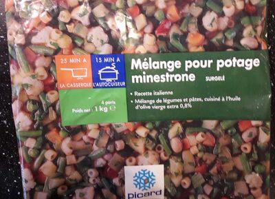 Mélange pour Potage Minestrone - Produit