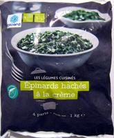 Epinards hachés à la crème - Product - fr
