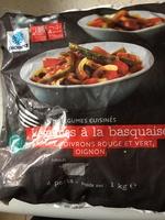 Légumes à la basquaise - Produit - fr