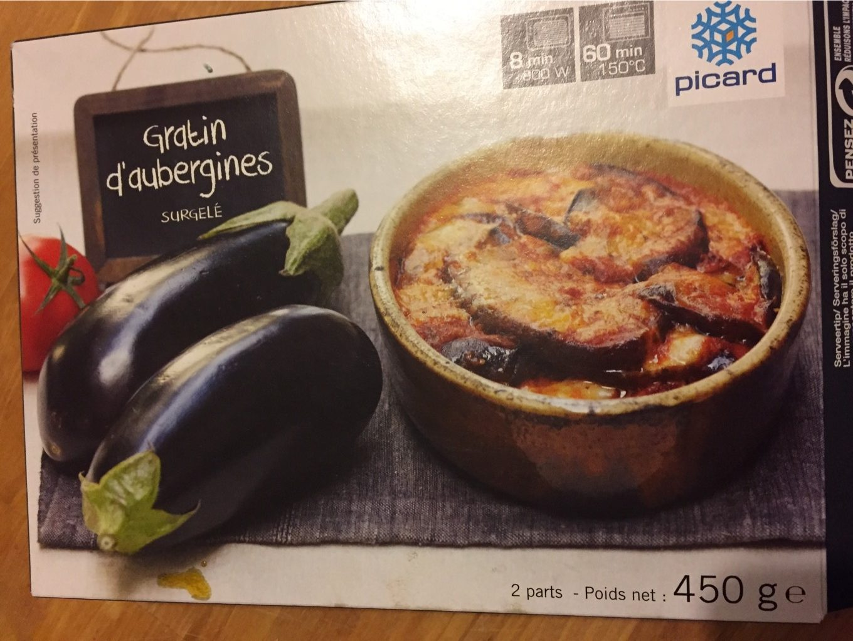 Gratin d'Aubergines - Produit - fr