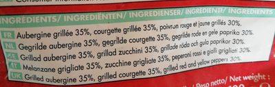 Mélange de légumes grilles - Ingrediënten