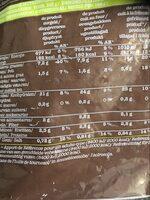 Pommes Duchesse - Informations nutritionnelles - fr