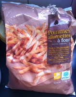 Pommes allumettes à four - Product - fr