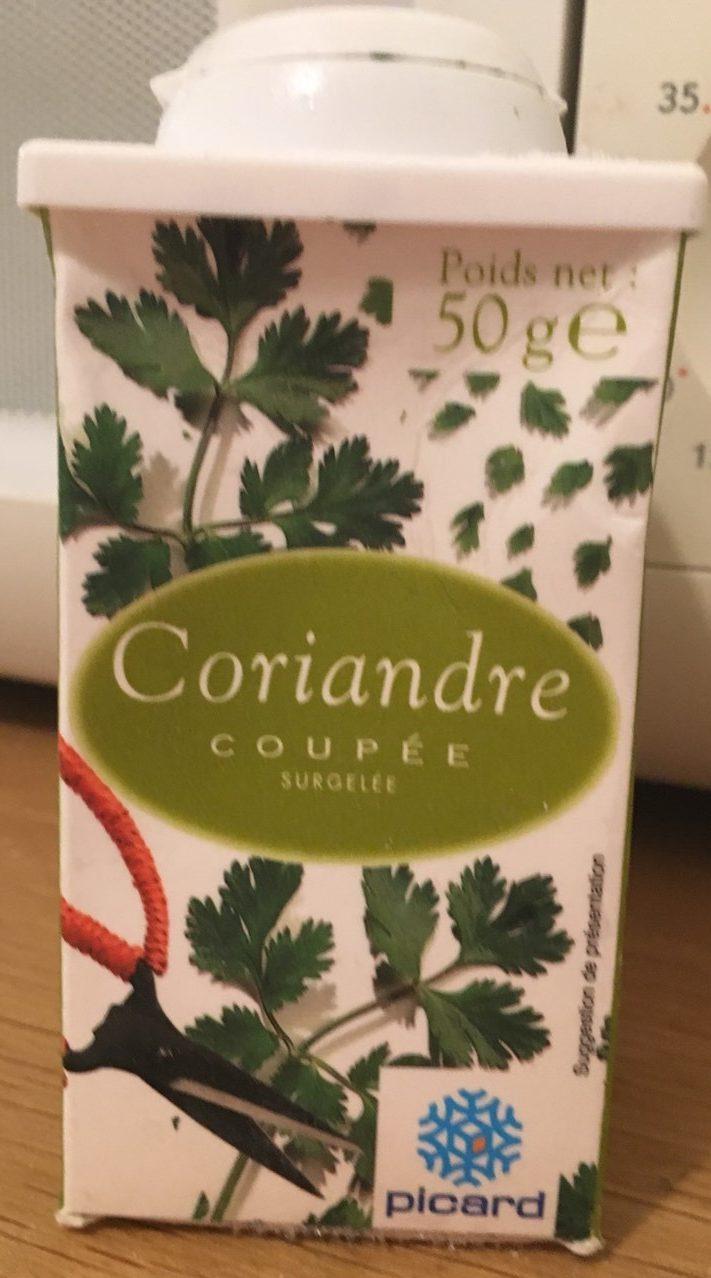 Coriandre coupée sugelée - Product - fr