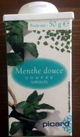 Menthe douce coupée - Produit - fr