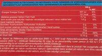 4 steaks hachés - Informations nutritionnelles - fr