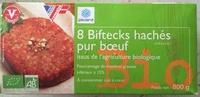 8 Biftecks hachés pur bœuf - Product - fr