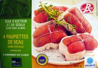 Label Rouge - 4 Paupiettes de veau - Prodotto - fr