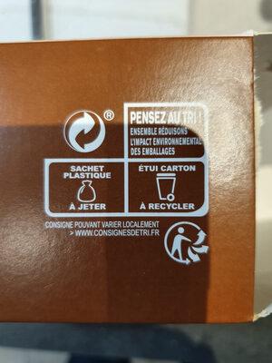 Boudins Blancs aux Morilles - Instruction de recyclage et/ou information d'emballage - fr