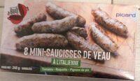 8 mini-saucisses de veau à l'italienne - Produit - fr