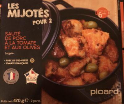 Sauté de Porc à la Tomate et aux Olives - Produit