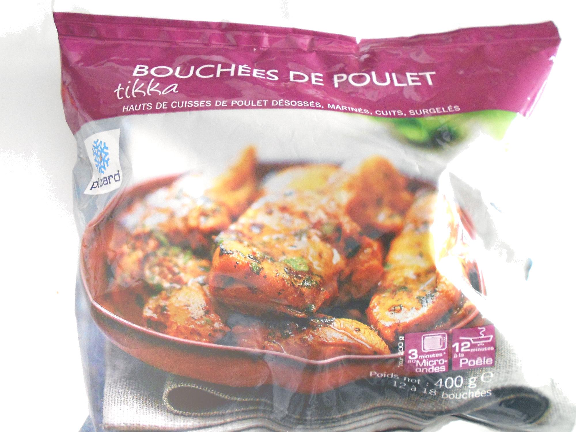 Bouchées de poulet tikka - Produit - fr