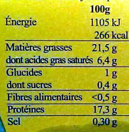 2 cailles farcies au bloc de foie gras de canard semi-désossées - surgelées - Informations nutritionnelles - fr