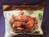 Manchons de poulets rôti surgelés - Produit