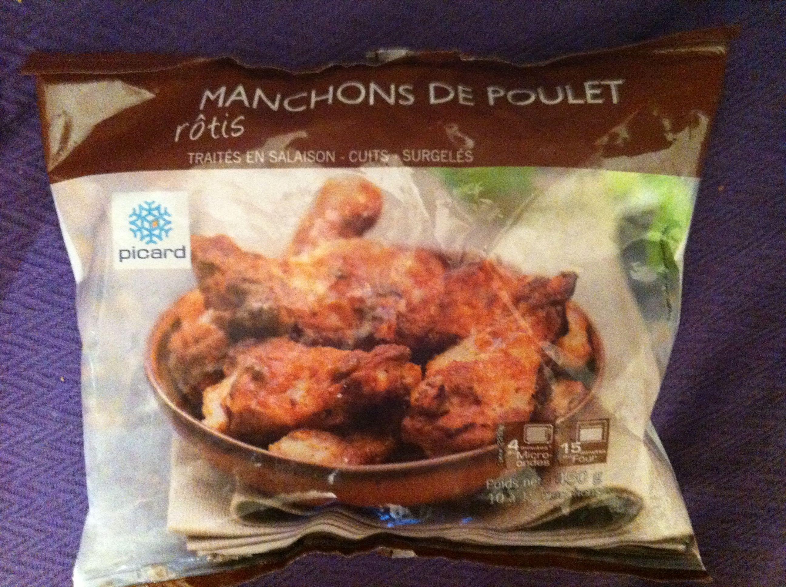 Manchons de poulets rôti surgelés - Produit - fr