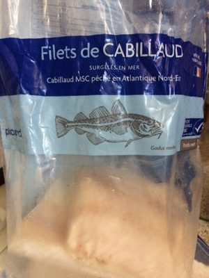 Filets de Cabillaud - Produit - fr