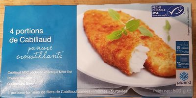 4 portions de Cabillaud - Produit