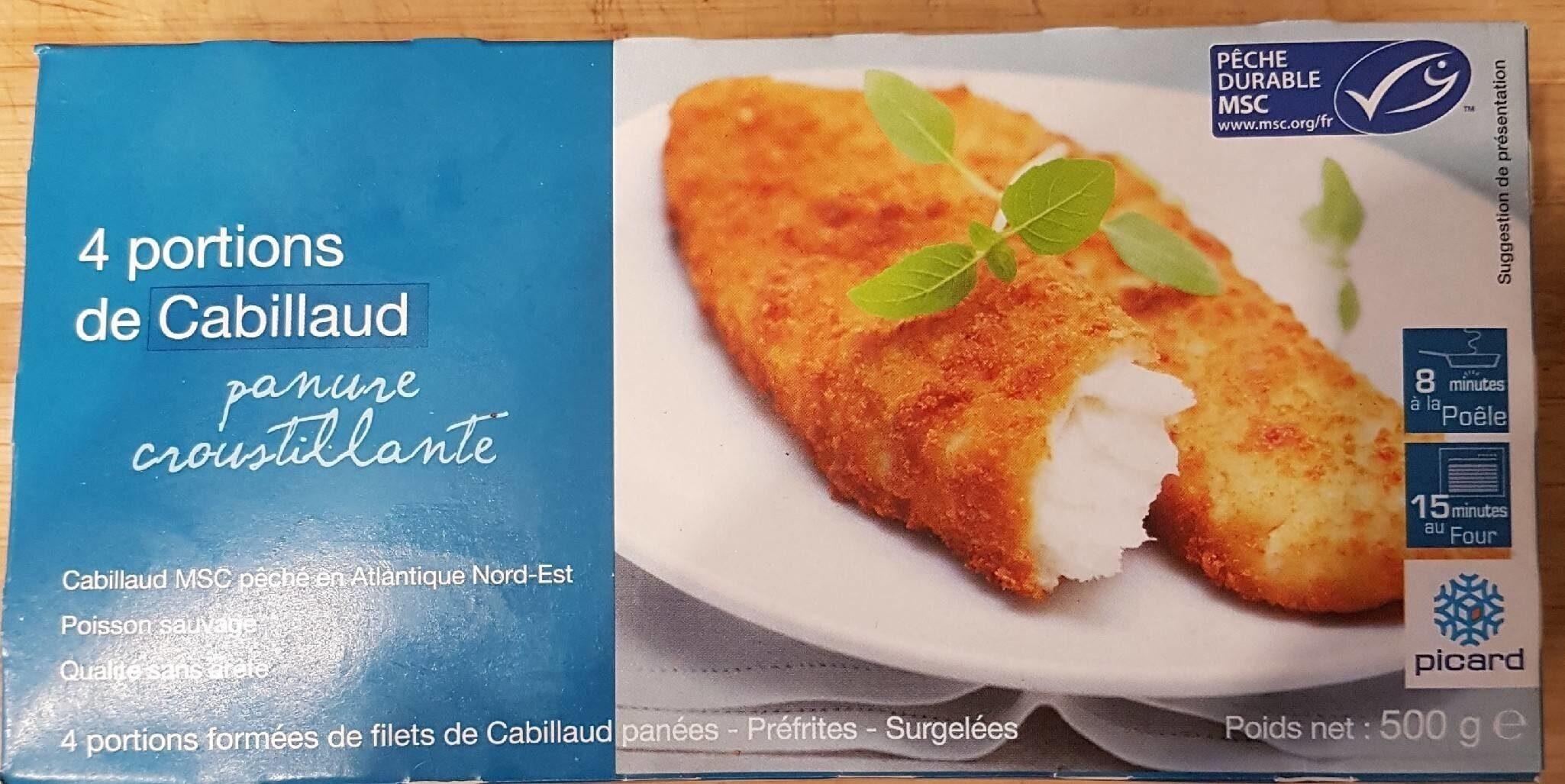 Cabillaud panure croustillantes - Prodotto - fr