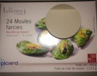 24 Moules Farcies - Produit