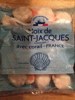 Noix de Saint-Jacques avec corail - Produit - en