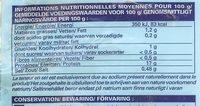 Noix de Saint-Jacques avec corail - Voedingswaarden - en