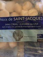 Noix de Saint-Jacques Canada/USA MSC - Produit