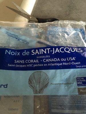 Noix de Saint-Jacques Canada/USA MSC - Ingrédients