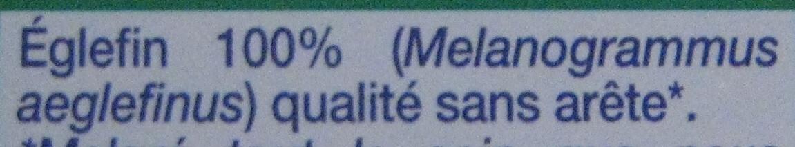 Dos d'églefin - Ingrédients - fr