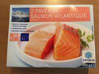 2 pavés de saumon Atlantique - Produit - fr