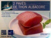 2 pavés de thon albacore - Prodotto - fr