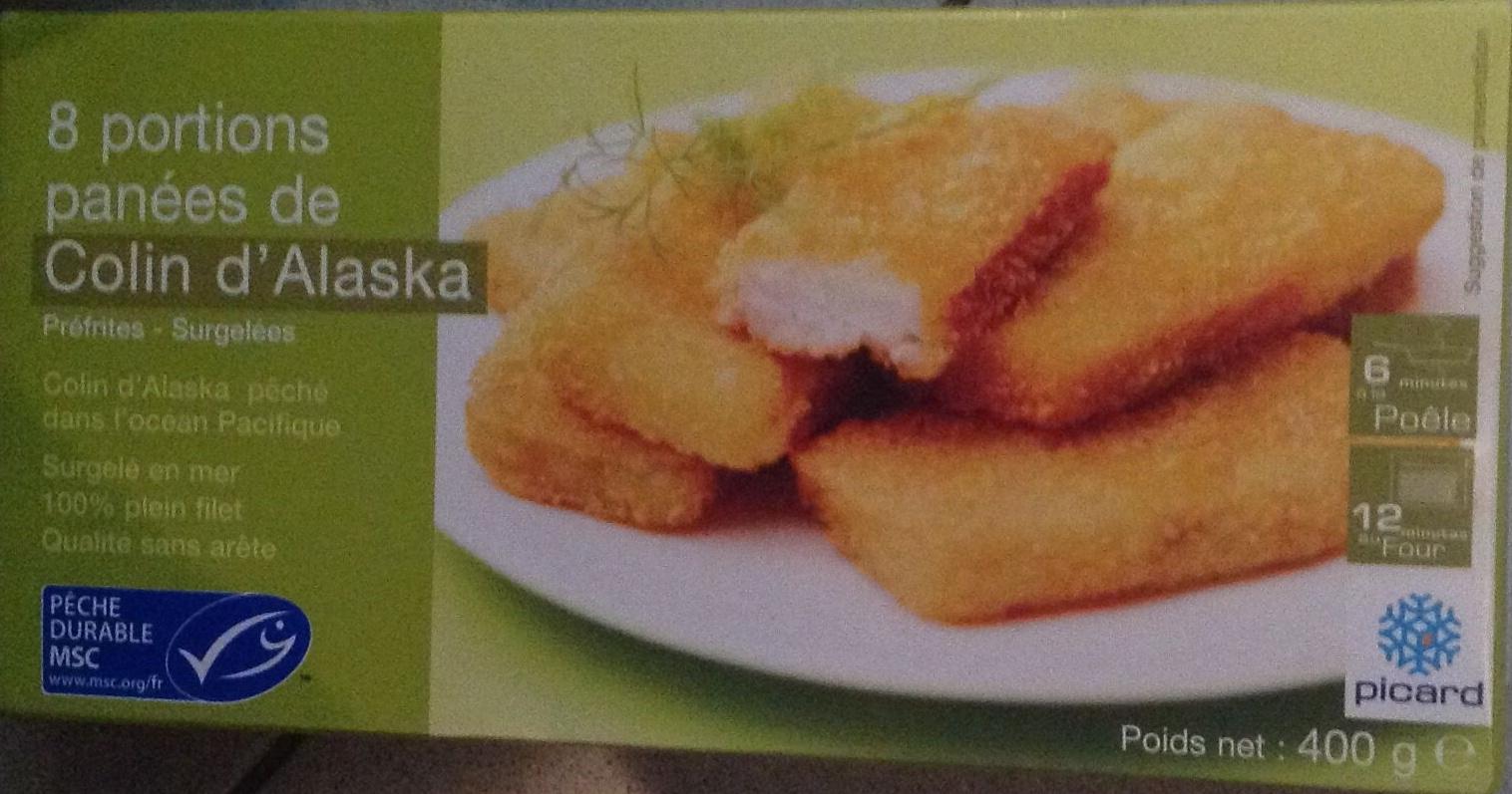 8 portions panées de Colin d'Alaska - Produit