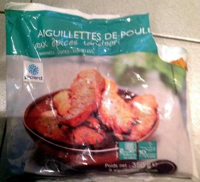 Aiguillettes de poulet aux épices tandoori - Product