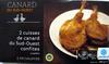 2 cuisses de canard du Sud-Ouest confites surgelées - Produit