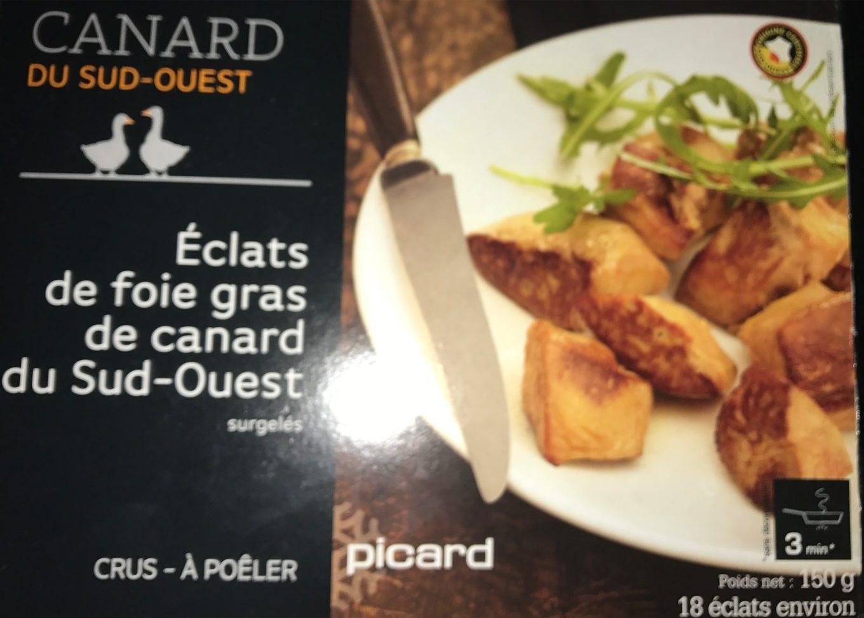 Foie Gras de Canard du Sud-Ouest Cru en Éclats - Produit - fr
