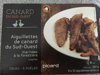 Aiguillettes de Canard du Sud-Ouest Marinées à la Forestière - Produit