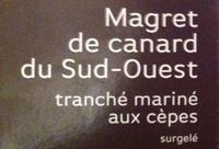 Magret de canard du Sud-Ouest - Ingrédients
