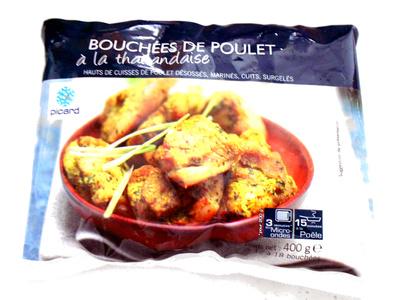 Bouchées de poulet à la thailandaise - Produit - fr