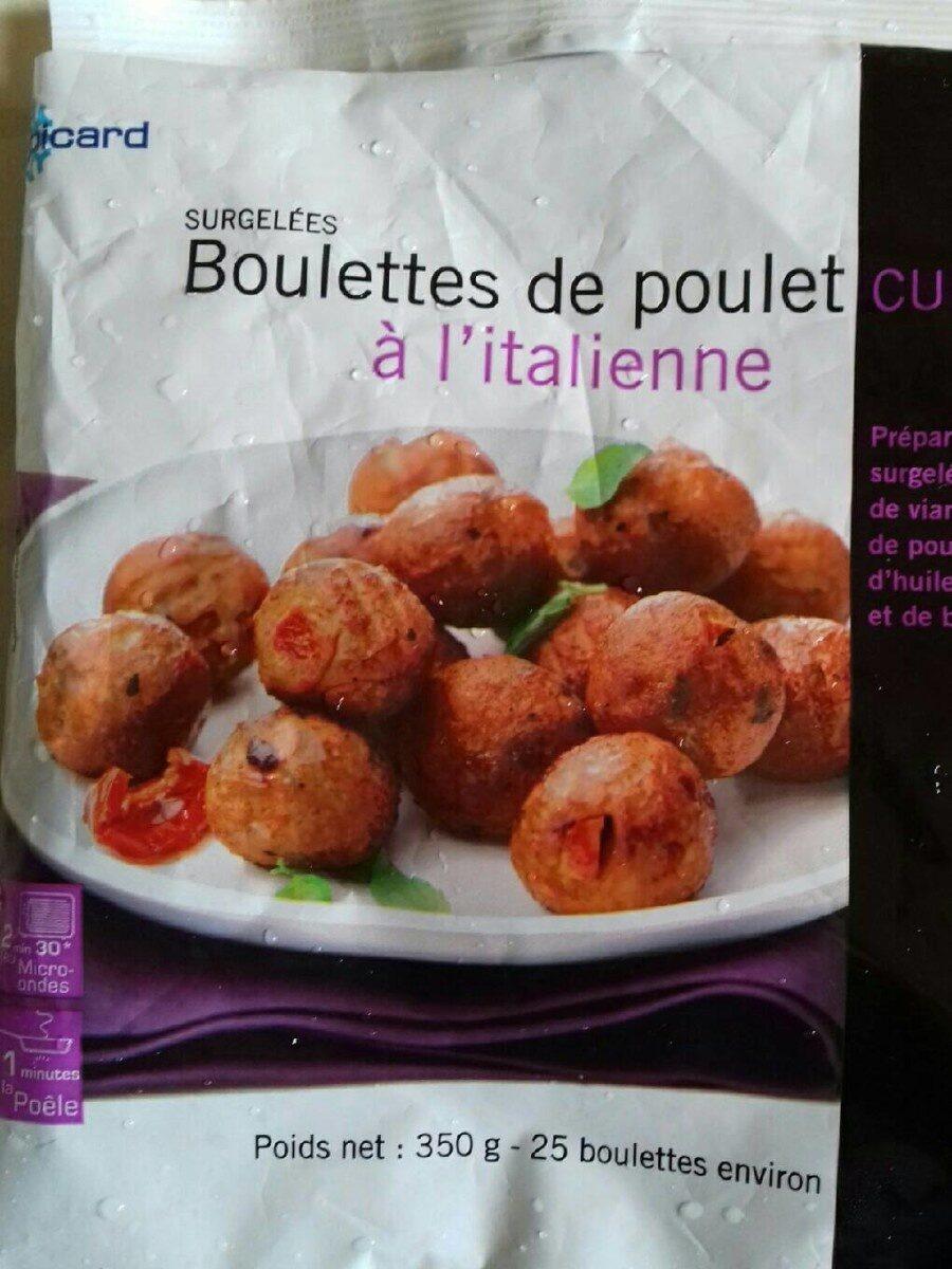 Boulettes de poulet cuites à l'italienne - Produit - fr